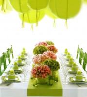gėlės stalo puošimui