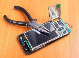 Apsaugotas telefonas